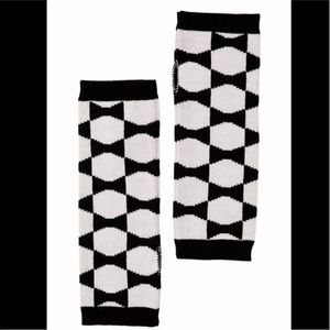 kate spade ♠️ Signature Blk/Wht Armwarmers ♠️